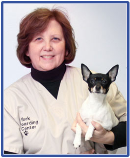 Barbara Kelley, CKO (Certified Kennel Operator)