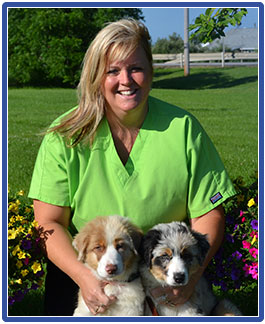 Amy Sheflin, Veterinary Assistant